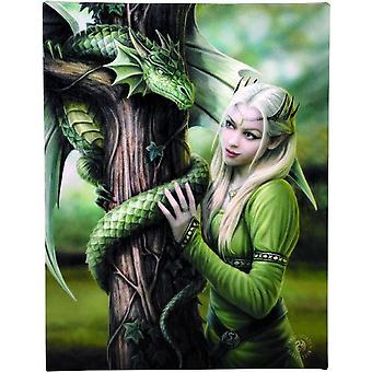 Anne Stokes Kindred Spirits Canvas