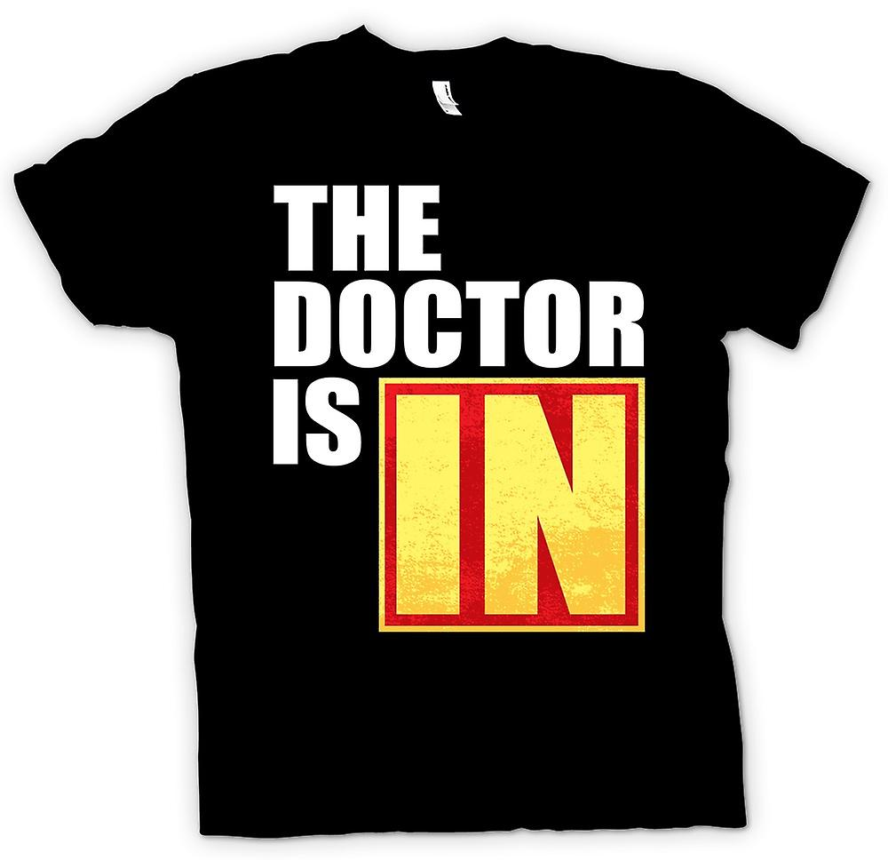 Mens t-shirt-il medico è In