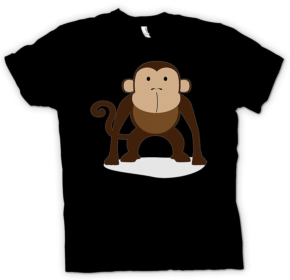 Womens T-shirt - I Love Monkeys - Cute Animal