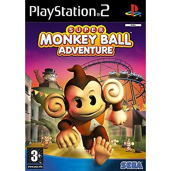Super Monkey Ball Adventure (PS2) - Factory Sealed