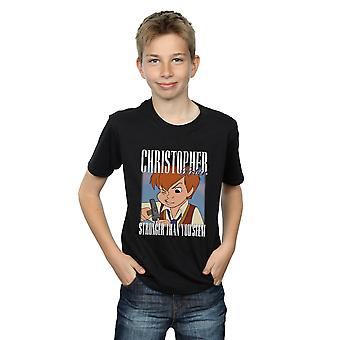 Disney Boys Winnie The Pooh Christopher Robin Montage T-Shirt