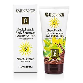 Eminence Tropical Vanilla Body SPF 32 147ml/5oz