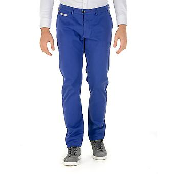Pal Zileri Mens Pants Blue