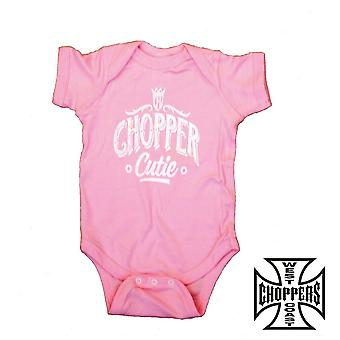 West Coast choppers onesie chopper Cutie baby Creeper