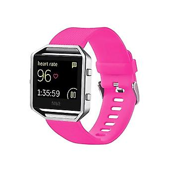 Plastic / silicone watch wristband for Fitbit blaze watch pink accessories