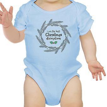 Jestem najlepsze Boże Narodzenie dekoracji Cute Baby Body pierwszego święta