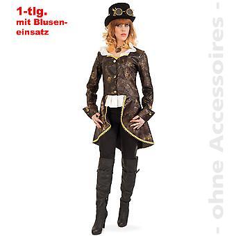 Стимпанк сюртук женский костюм обнаружили исследователи викторианской леди костюм