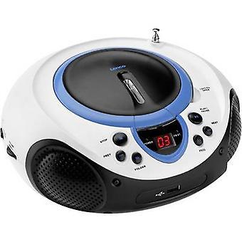 FM Radio/CD Lenco SCD-38 USB AUX, CD, FM, USB Blue