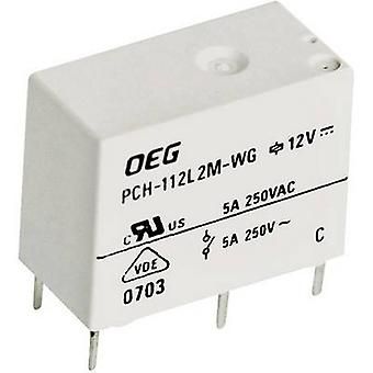 TE Connectivity PCH-112D2-WG PCB relays 12 Vdc 5 A 1 change-over 1 pc(s)