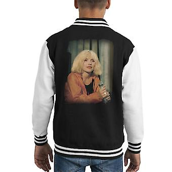 TV Times Debbie Harry Muppet Show 1981 Kid's Varsity Jacket