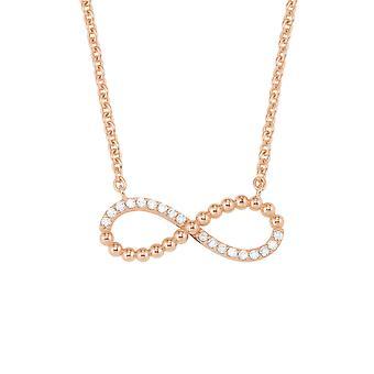 s.Oliver драгоценность дамы ожерелье цепь серебро розовое Zirkonia 2022743