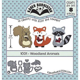 Karen Burniston Dies-Woodland Animals