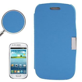قضية غطاء الهاتف الخليوي سامسونج Galaxy S3 ميني i8190/i8195/i8200 أزرق ناعم