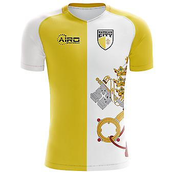 2018-2019 Vatican City Home Concept Football Shirt