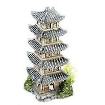 Classic For Pets Oriental Tower 160mm 4pcs (Fish , Decoration , Ornaments)