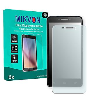 Alcatel One Touch Idol 6030D Screen Protector - Mikvon Clear (Retail Package with accessories)