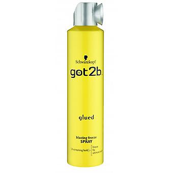 Schwarzkopf Got2b Glued Blasting Freeze Spray