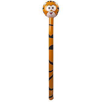 TRIXES opblaasbare Tiger Basher ballon 1.4M leuk Prop en speelgoed voor kinderen verjaardagspartijen