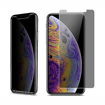 Apple iPhone XS Max Visa skydd rustning skydd glas anti-spion film 9 H - 10 stycken