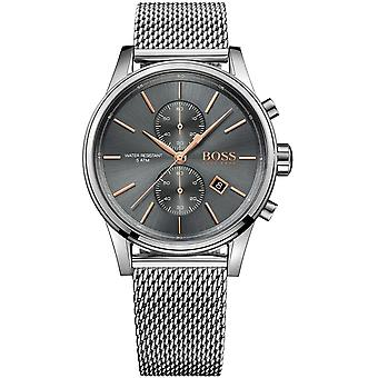 Hugo Boss Mens' Jet Chronograph Watch - 1513440 - Grey