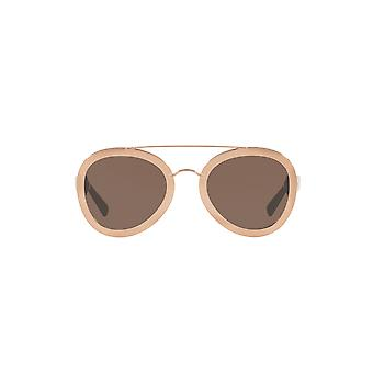 Valentino Two Tone Pilot zonnebrillen In Rose goud