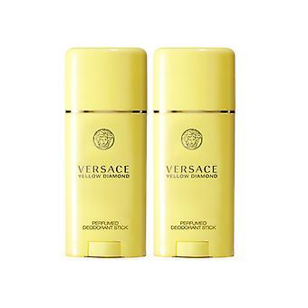 2er-Pack Versace Yellow Diamond Edt 50 ml