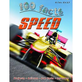100 Facts Speed by Steve Parker - 9781848105324 Book