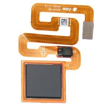 Sensore per Xiaomi Redmi 4 X nero casa tasto chiave riparazione parti di ricambio di impronte digitali