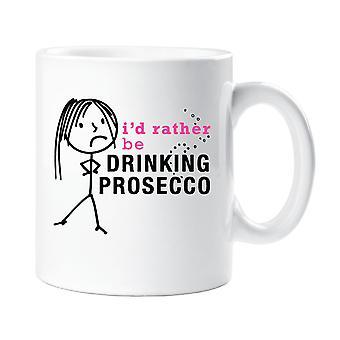 Damene jeg heller drikke Prosecco krus