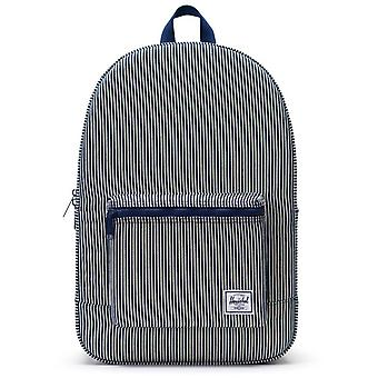 Herschel Hickory Stripe Daypack Cotton Casual - 24.5 Litre Backpack