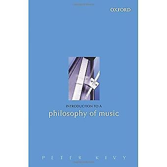 Introduction à une philosophie de la musique