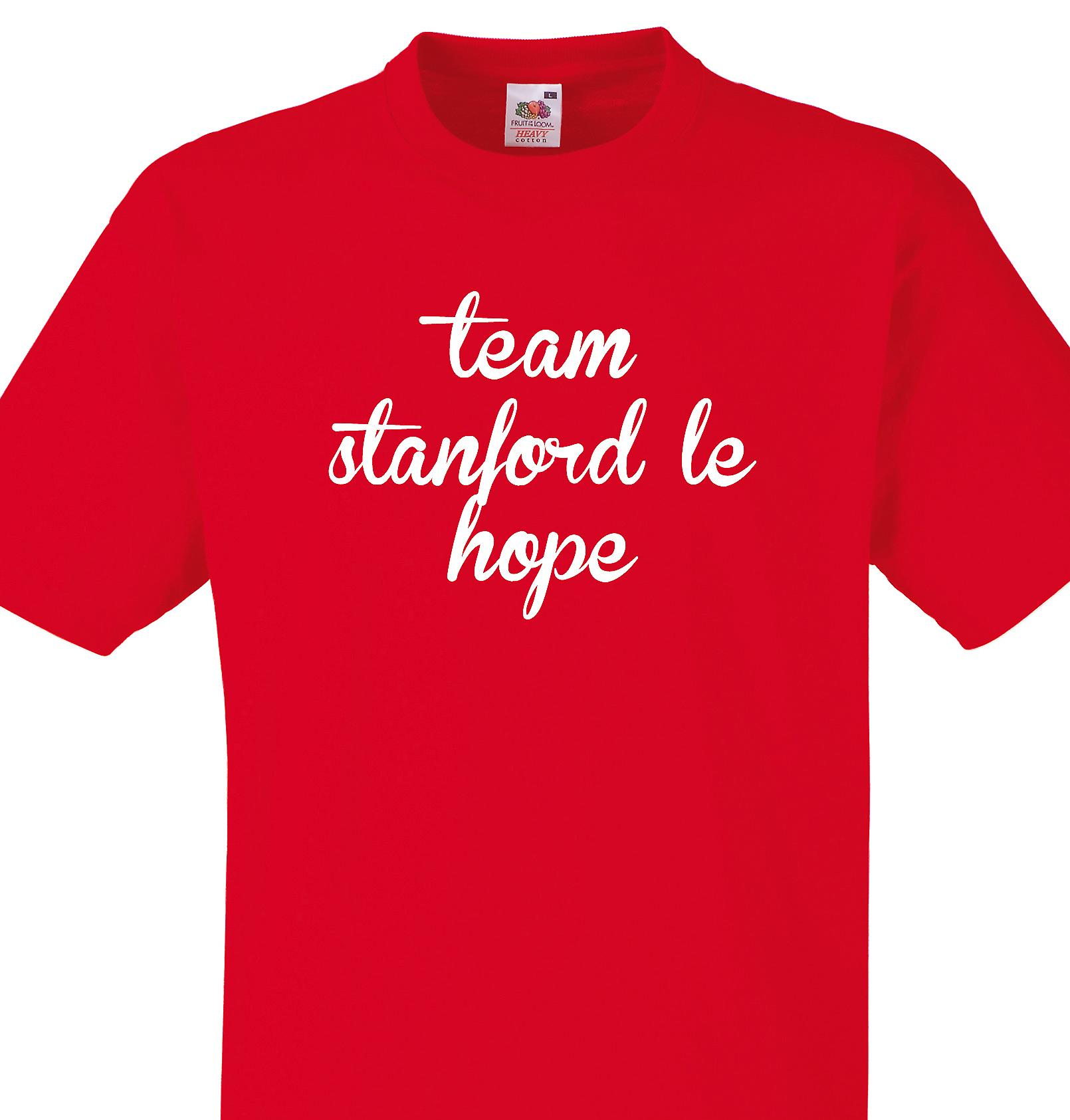 Team Stanford le hope Red T shirt