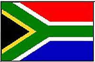 Sør-Afrika/South African flagg 5 ft x 3 ft (100% Polyester) Jer.