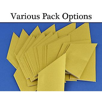 Pearlescent Gold Paper Hat Packs for Christmas Crackers