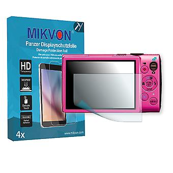 Canon PowerShot ELPH 330 HS Screen Protector - Mikvon Armor Screen Protector (Retail Package with accessories)