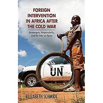 Intervención extranjera en África después de la guerra fría: la guerra contra el Terror (investigación en estudios internacionales, estudios globales y comparativos), soberanía y responsabilidad