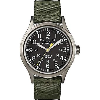 T49961 تشيسابيك، الجنسين تيميكس ساعة اليد-الكبار، أسود (أسود/أخضر)