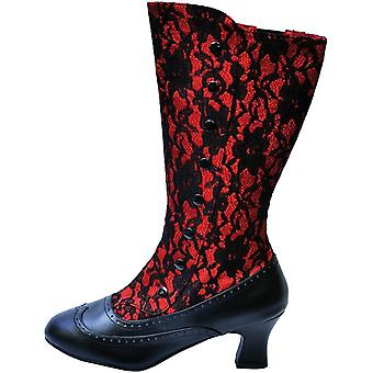 Boot Spooky Red Size 10