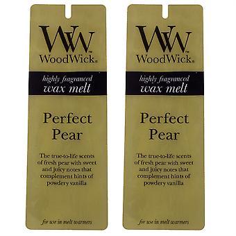 ある香りワックス溶ける - ツイン パック (4 パック x 2) - 完璧な梨