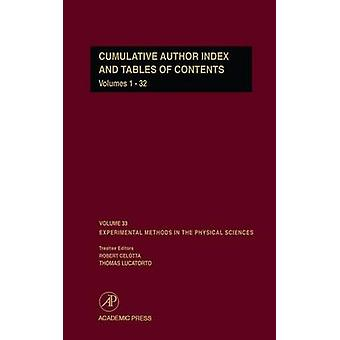 Cumulative Author Index and Tables of Contents Volumes132 Author Cumulative Index by Celotta & Robert