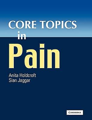 Core Topics in Pain by Holdcroft & Anita