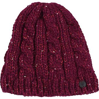 Roxy Womens Glacialis Beanie - Beet Red