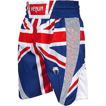 Venum Elite UK Flagge Boxing Shorts - blau/rot/weiß