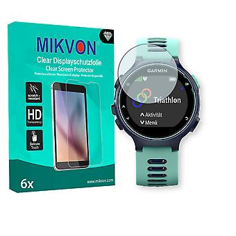 Garmin Forerunner 735XT Screen Protector - Mikvon Clear (Retail Package with accessories)