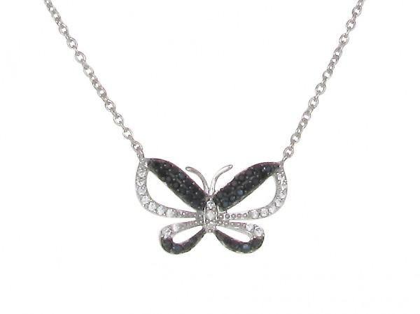 Cavendish French Night Butterfly Necklace
