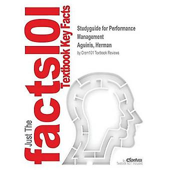 Studyguide for Performance Management by Aguinis - Herman - ISBN 9780