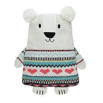 Aroma Home Knitted Huggable Hottie Body Warmer: Polar Bear