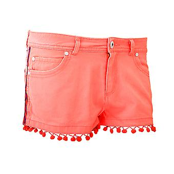 Brave Soul Ladies/Womens Cotton Hot Pants With Tassels