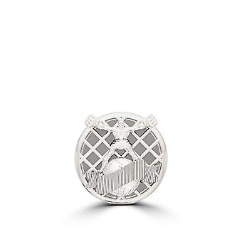 UFC - UFC Ulti-Man Pin In Sterling Silver