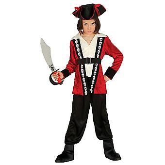Les garçons rouge des Caraïbes pirate Déguisements costume